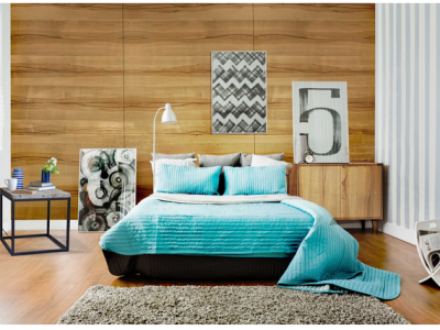 Luxurious Bedroom on a Budget With Decowood Veneers