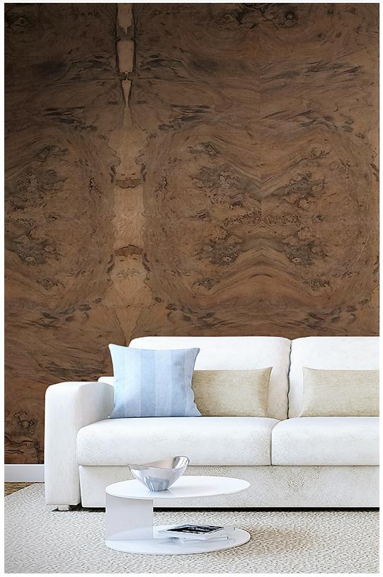 Decorative wood veneer design from Decowood Veneers