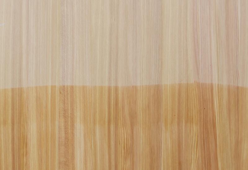 natural larch wood veneers